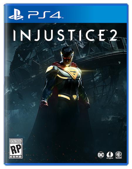 Resultado de imagem para jogo injustice 2 ps4
