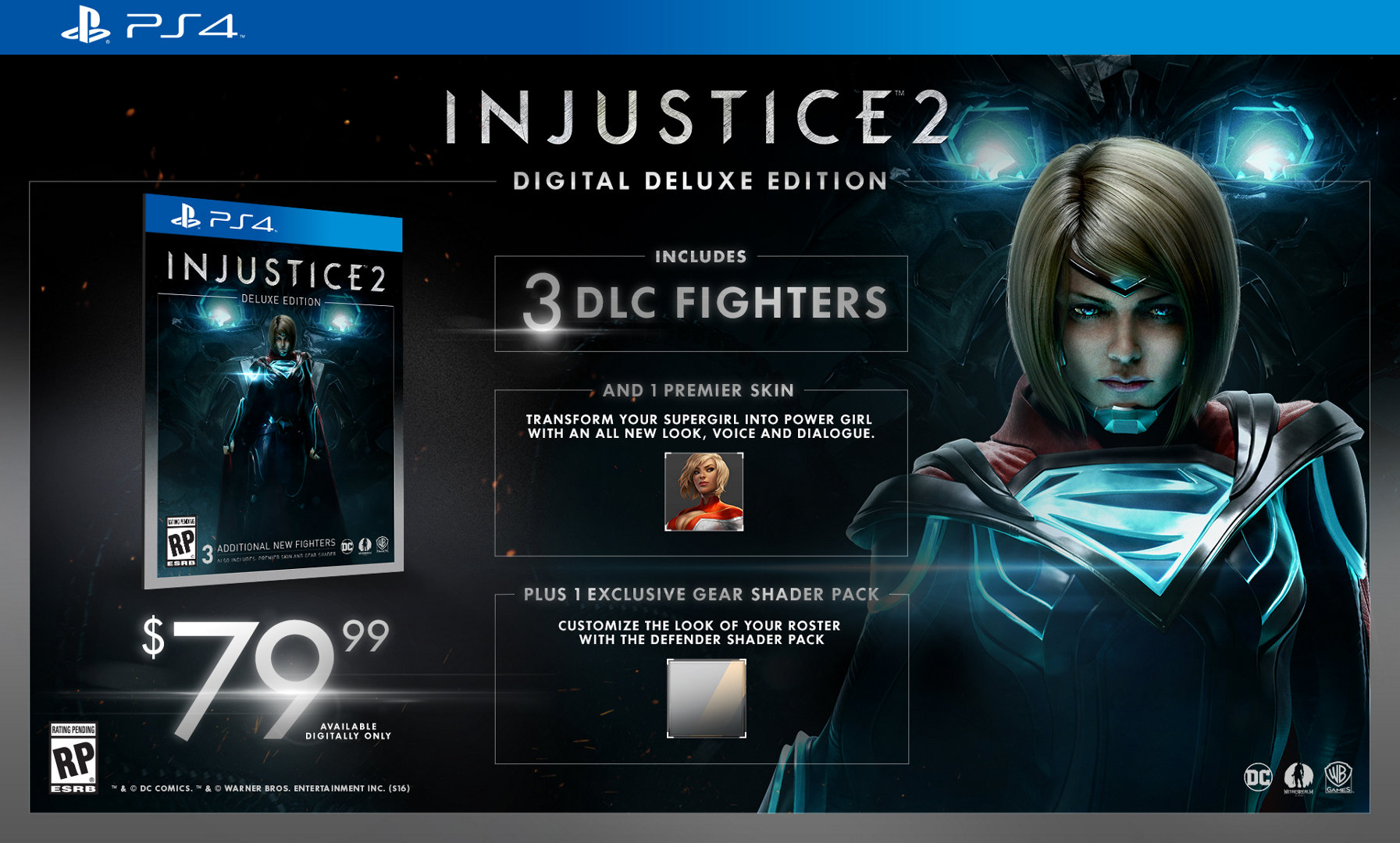 Edición Digital Deluxe de Injustice 2