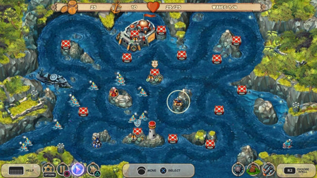 Iron Sea Defenders Screenshot 1