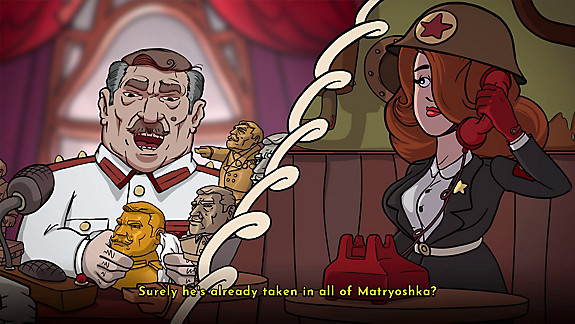 Irony Curtain: From Matryoshka with Love - Screenshot INDEX