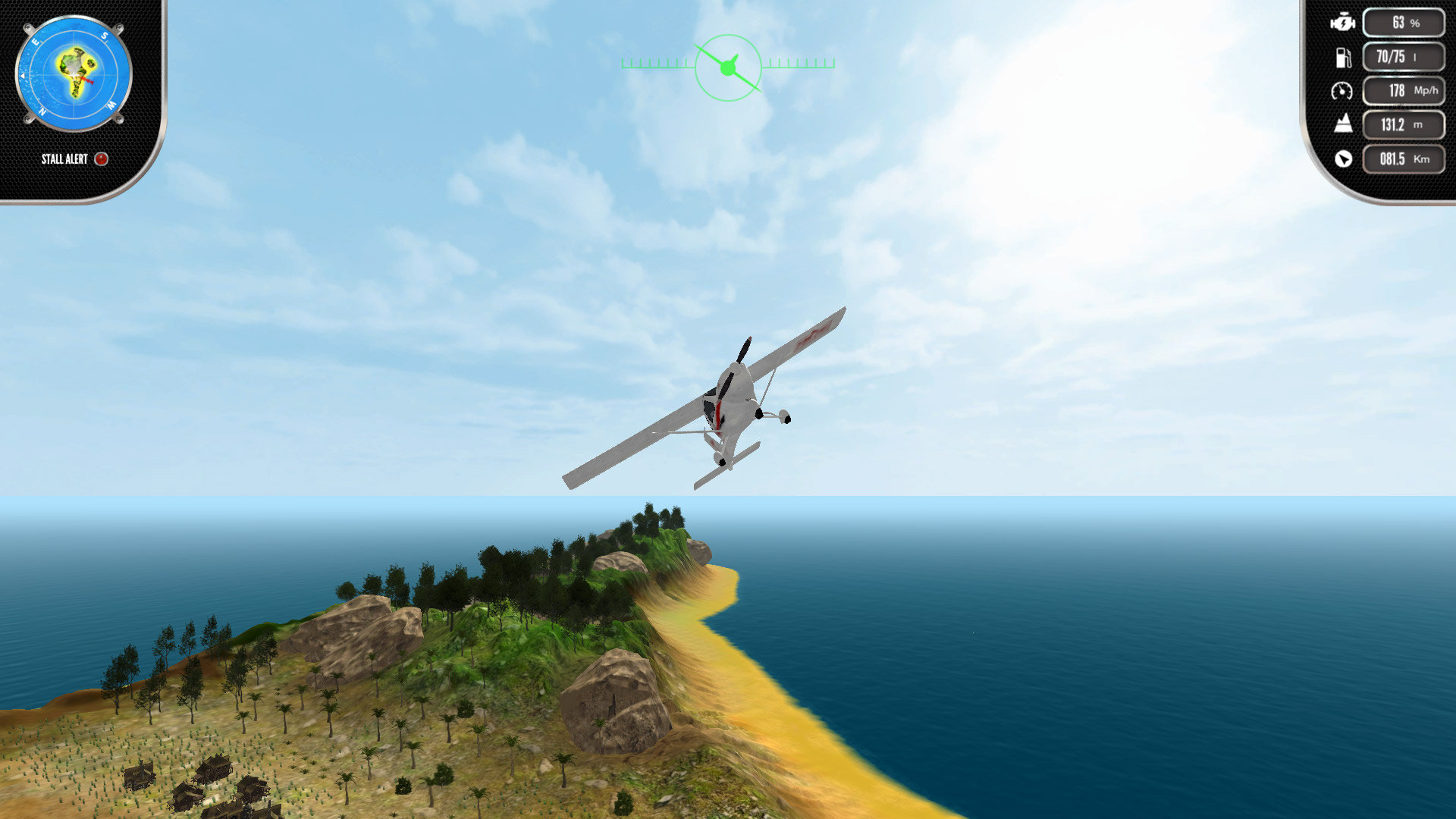 Island Flight Simulator Game | PS4 - PlayStation