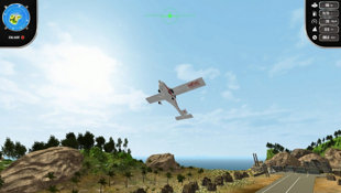 Island Flight Simulator Screenshot 3