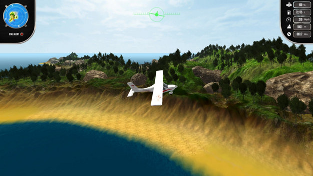 Island Flight Simulator Screenshot 4