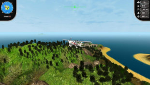 Island Flight Simulator Screenshot 5