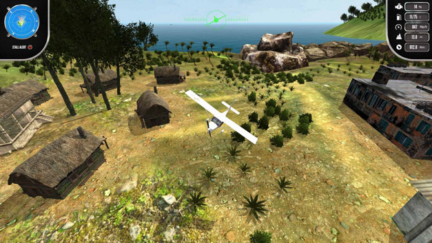 Island Flight Simulator Screenshot 7