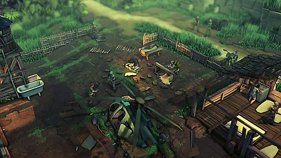 Jagged Alliance: Rage! - Screenshot INDEX
