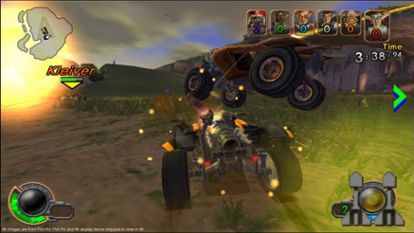 Jak X: Combat Racing Trailer Screenshot