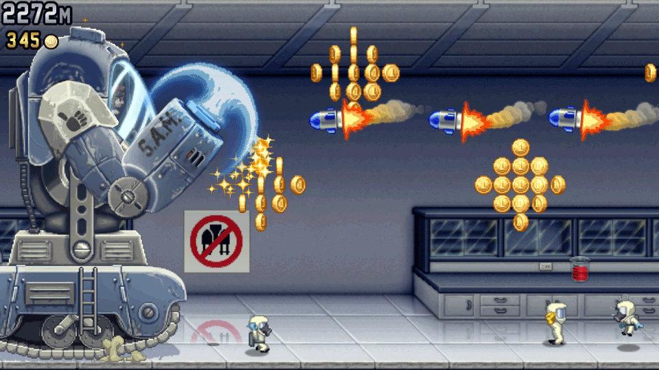 Jetpack Joyride Deluxe Screenshot 1