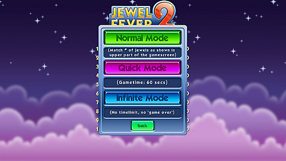 Jewel Fever 2 - Screenshot INDEX