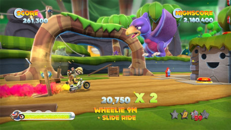 Joe Danger 2: The Movie Trailer Screenshot