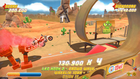 Joe Danger Trailer Screenshot