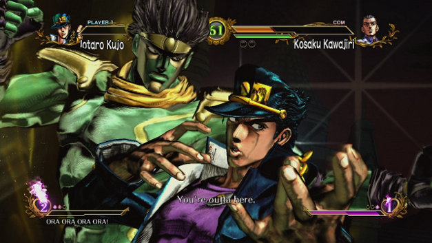 JoJo's Bizarre Adventure: All-Star Battle Screenshot 1