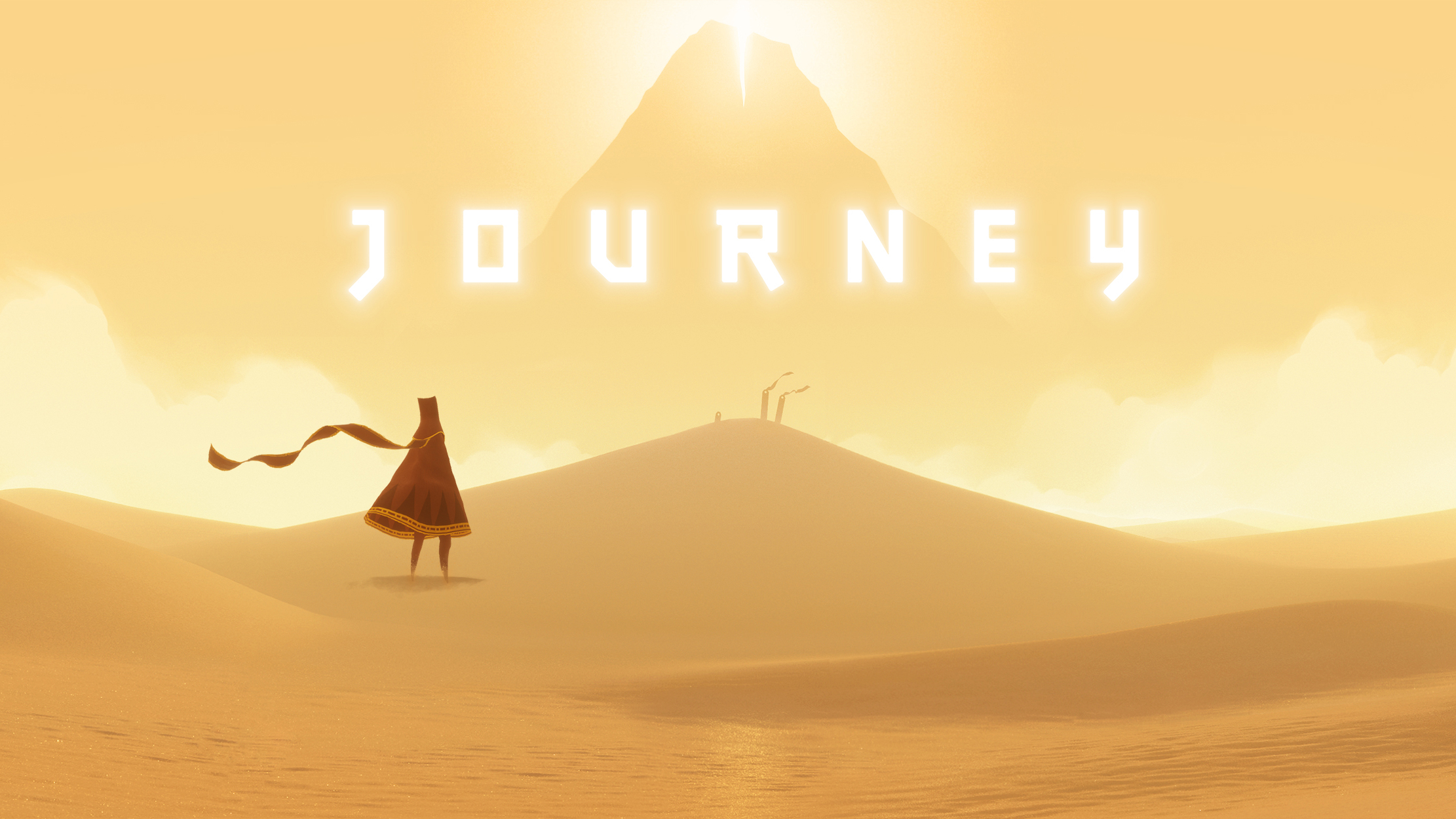 Title Screen from Journey