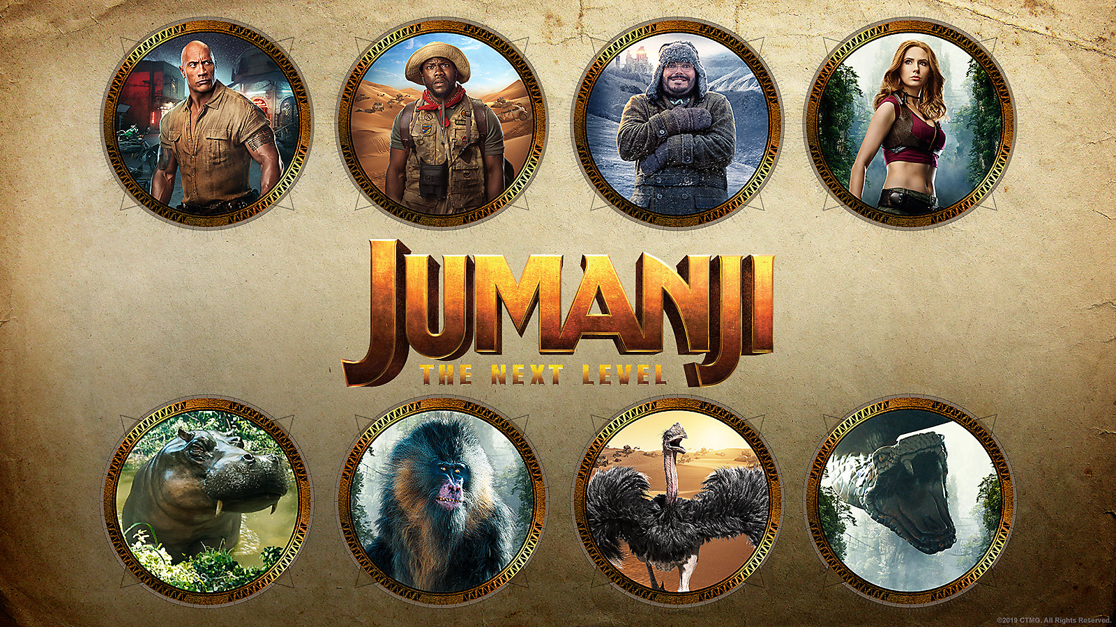 Jumanji: The Next Level Avatars Image