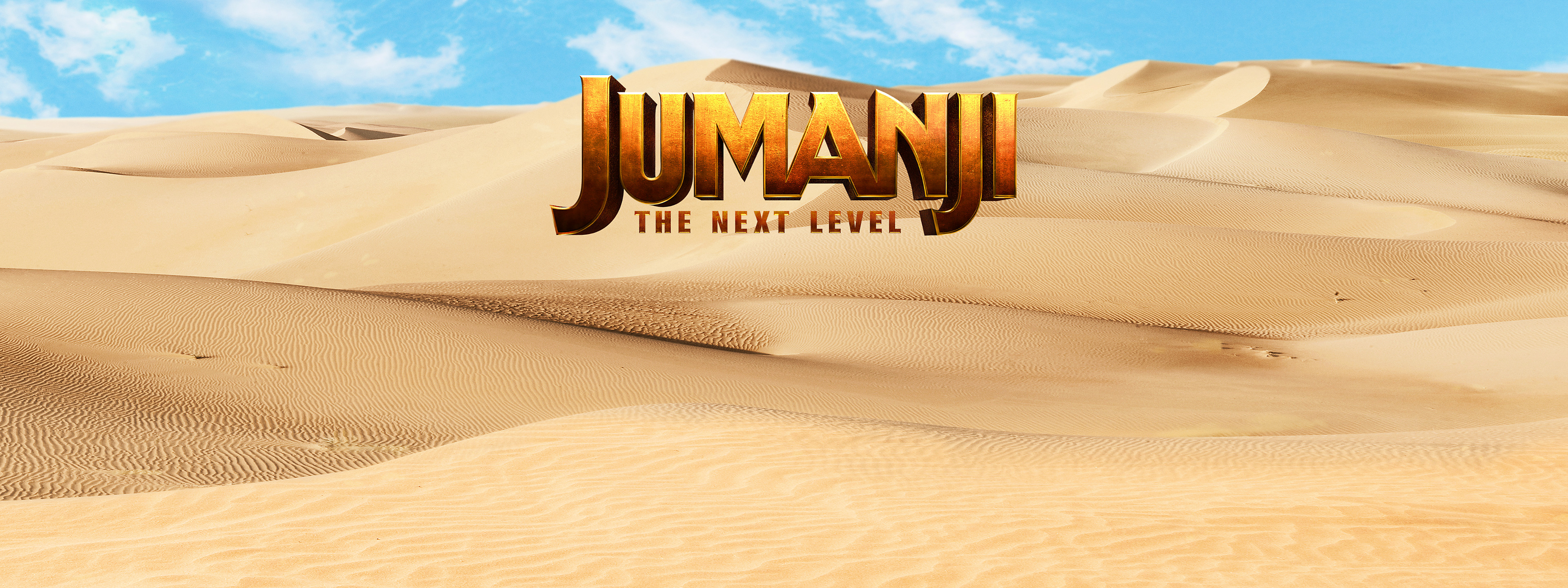 Jumanji: The Next Level Key Art