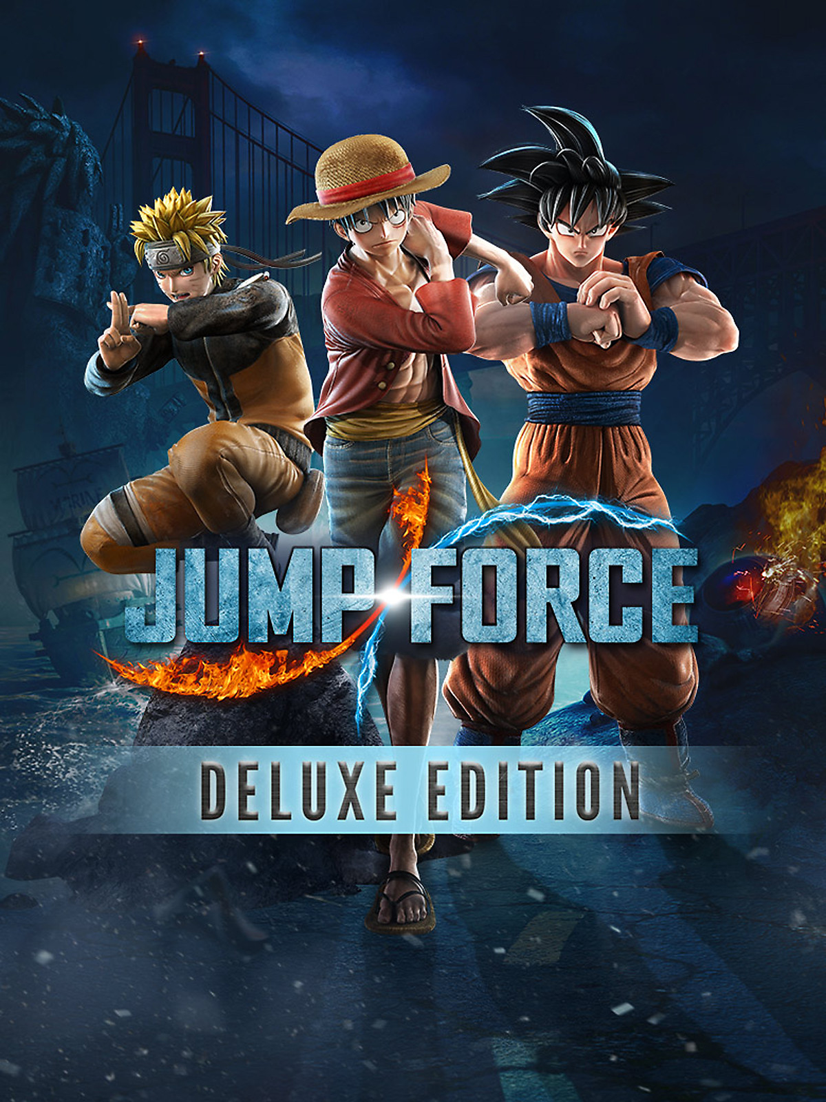 JUMP FORCE - Deluxe Edition Box Art