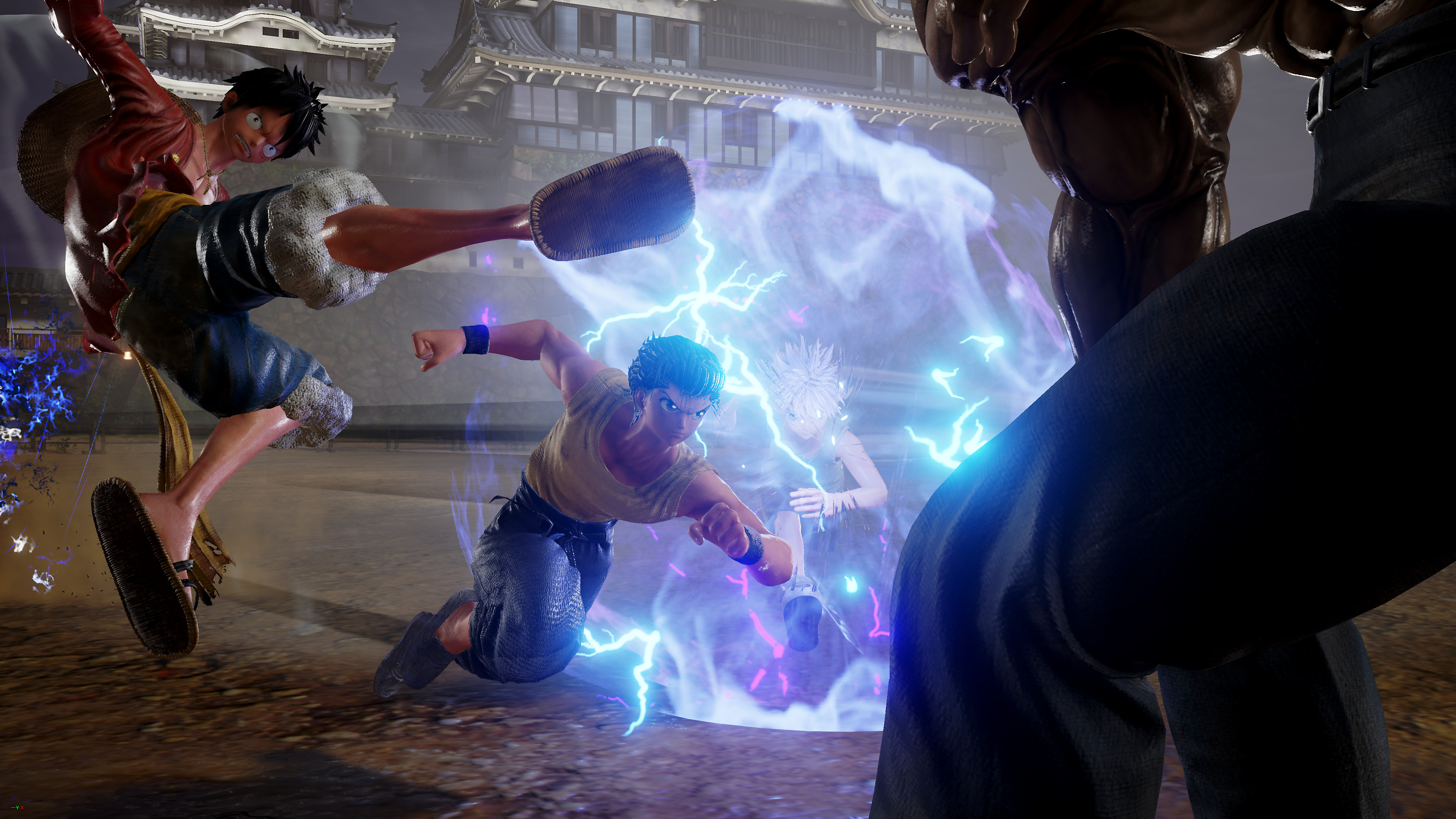 JUMP FORCE Game Features Screenshot 1