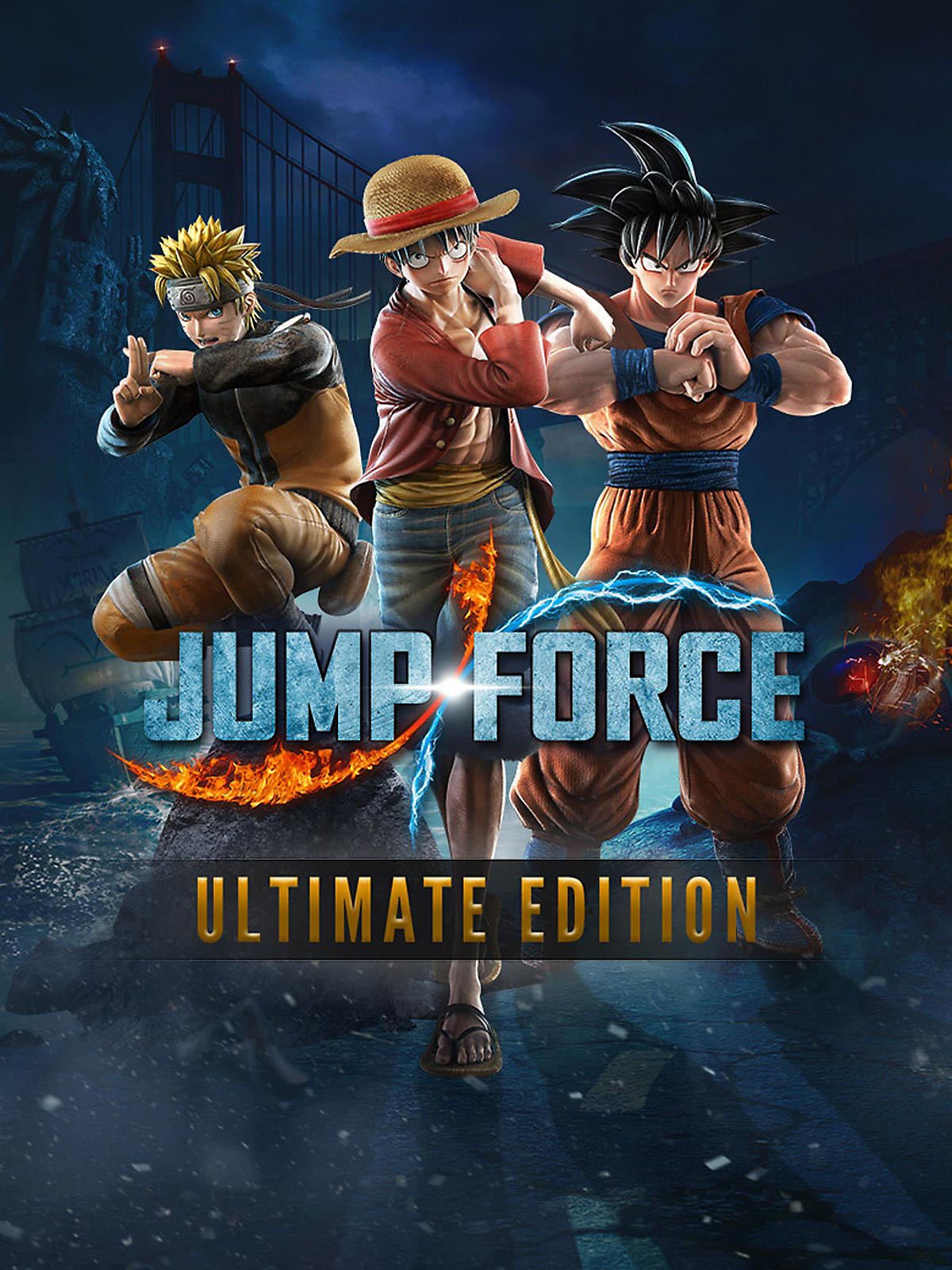 JUMP FORCE - Ultimate Edition Box Art