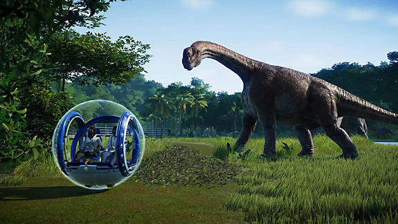 Jurassic World Evolution - Screenshot INDEX
