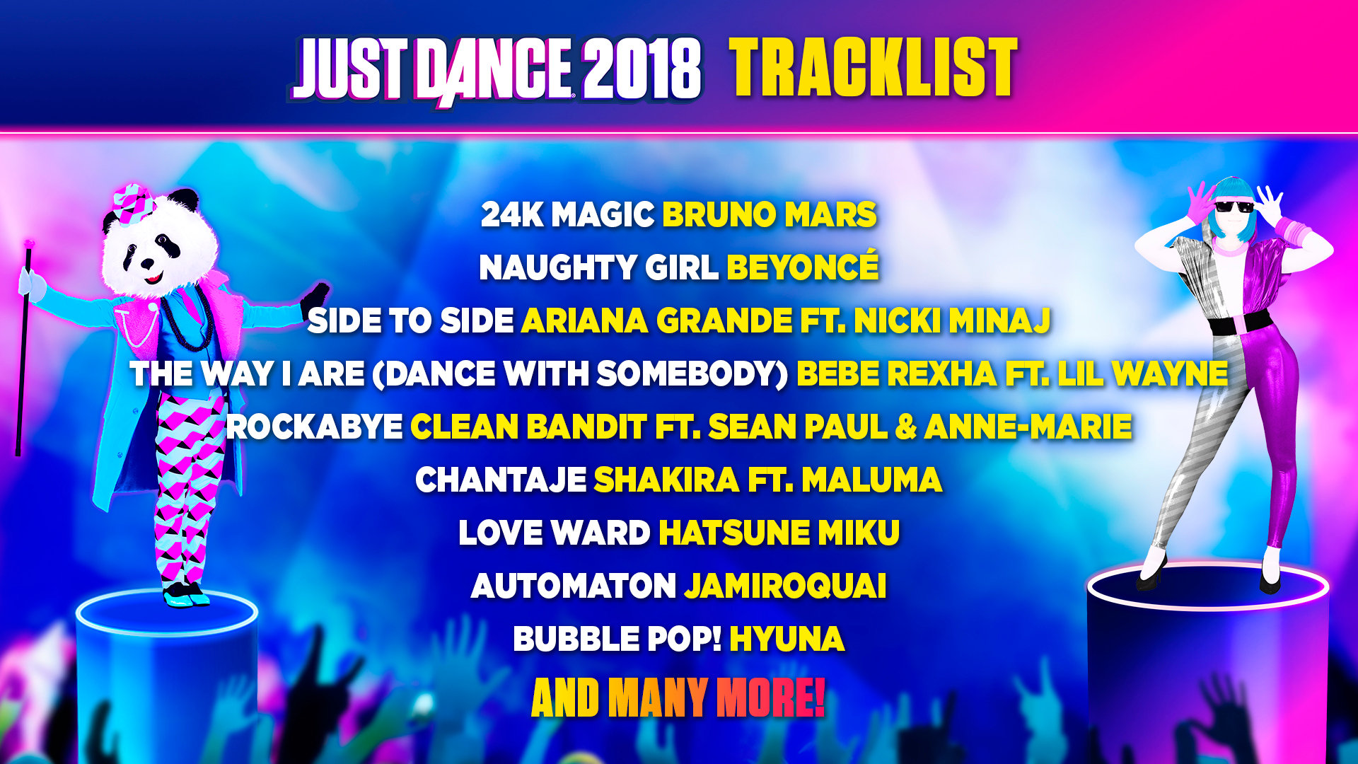 Just Dance 2018 Game Ps4 Playstation