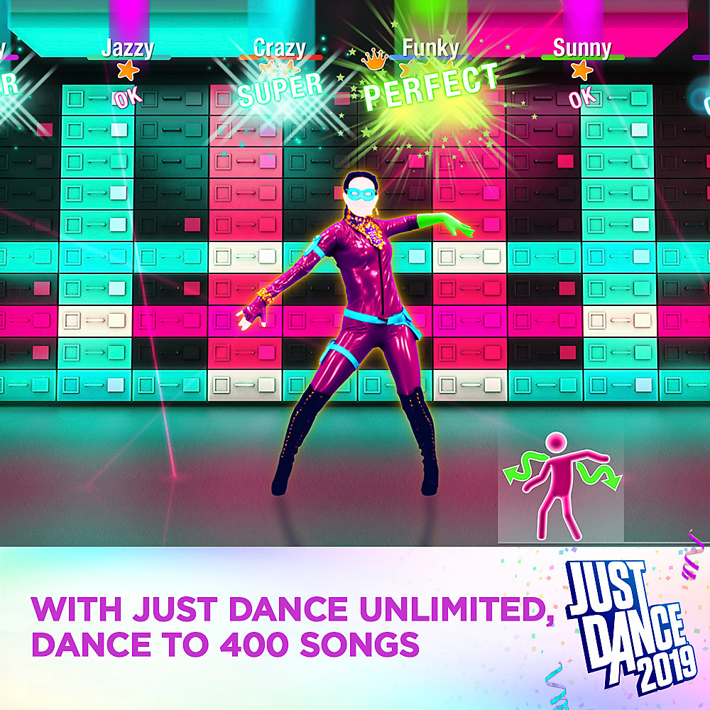 Just Dance 2019: 400 músicas com Just Dance Unlimited