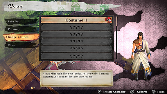 KATANA KAMI: A Way of the Samurai Story - Screenshot INDEX