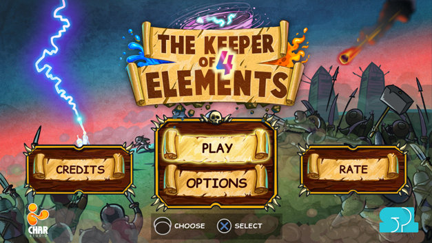 The Keeper Of 4 Elements Screenshot 1