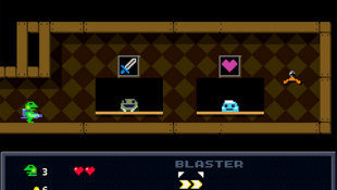 Kero Blaster Screenshot 2