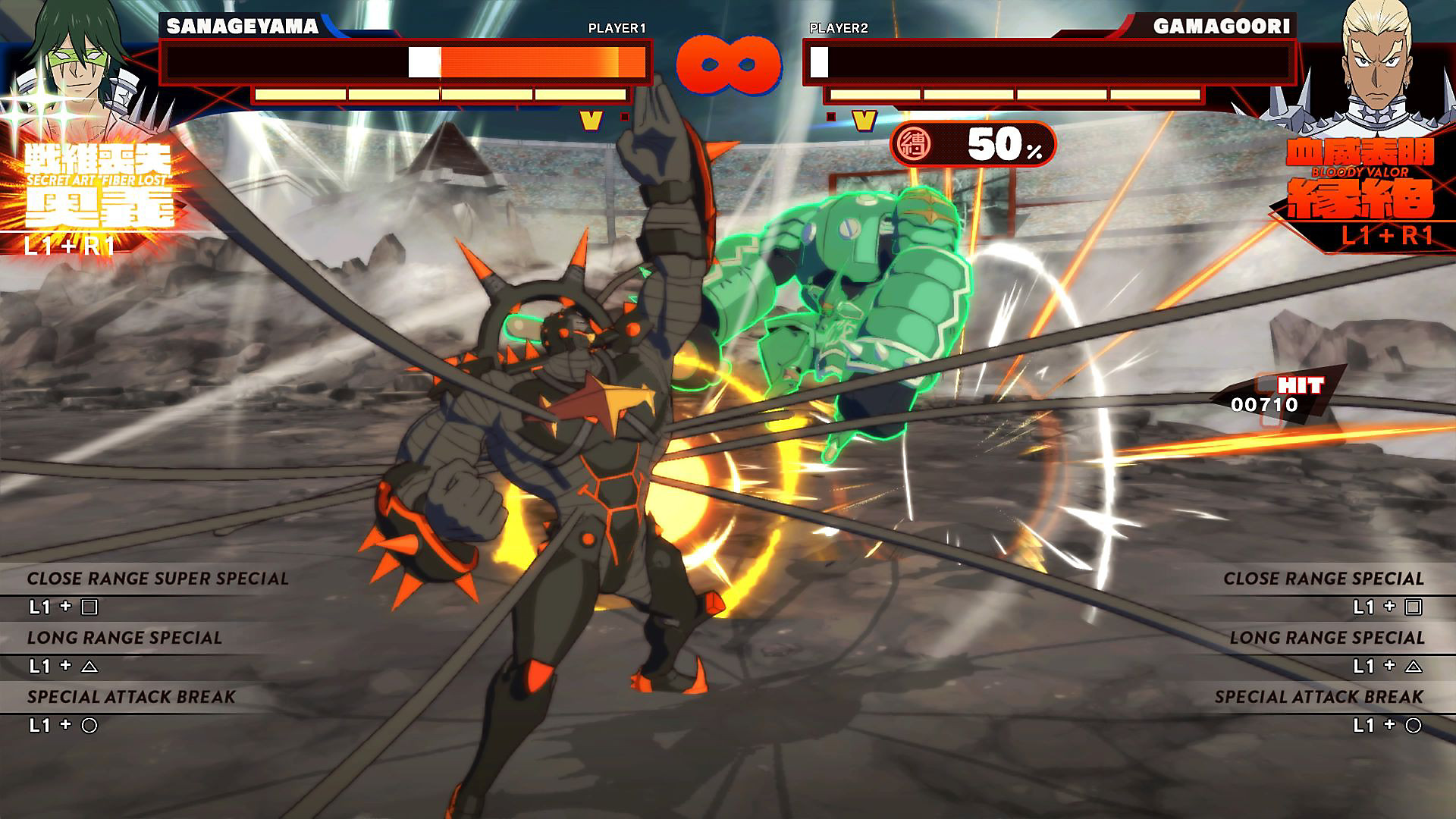 Gameplay de KILL la KILL - IF