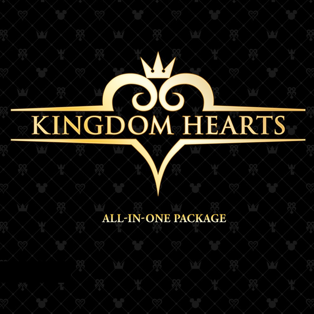 KINGDOM HEARTS All-In-One Package Game Small Banner