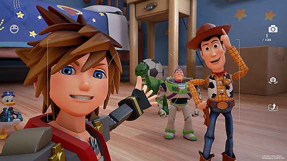 KINGDOM HEARTS III - Screenshot INDEX