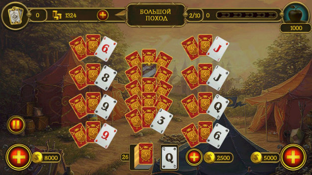 Knight Solitaire Screenshot 7