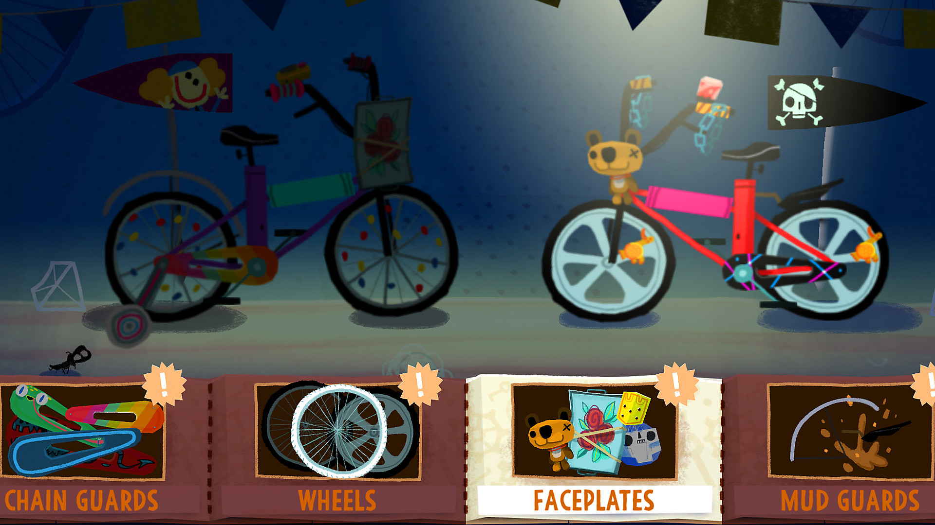 Knights and Bikes Game Features