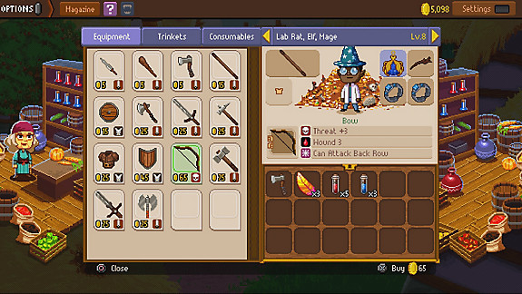 Knights of Pen & Paper 2 Deluxiest Edition - Screenshot INDEX