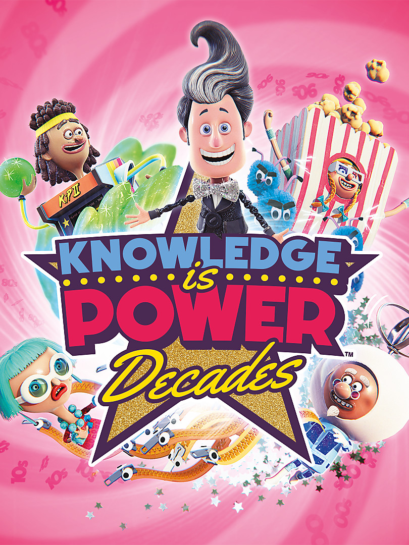 Knowledge is Power: Decades Box Art