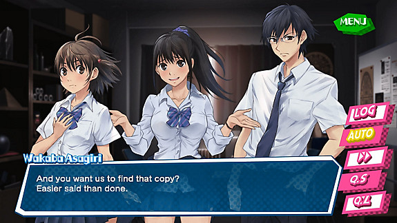 Kotodama: The 7 Mysteries of Fujisawa - Screenshot INDEX