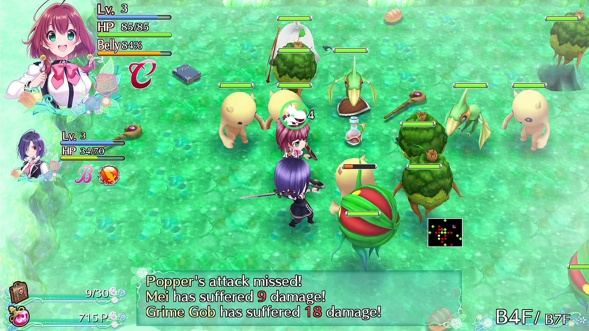 Gameplay de Labyrinth Life
