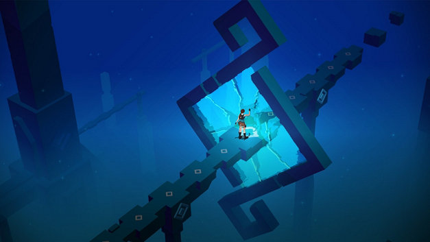 Lara Croft GO Screenshot 1