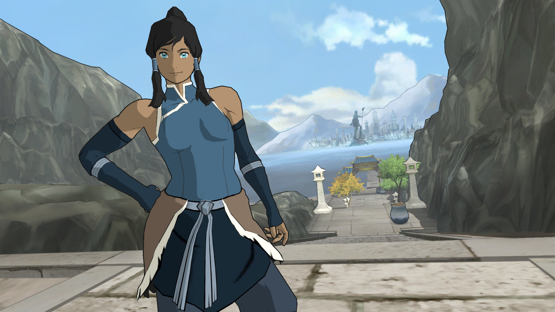 The legend of korra game ps4 playstation the legend of korra screenshot 1 voltagebd Image collections