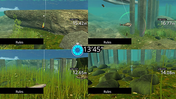 Legendary Fishing - Screenshot INDEX