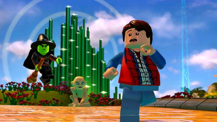 Lego Dimensions Game Ps4 Playstation