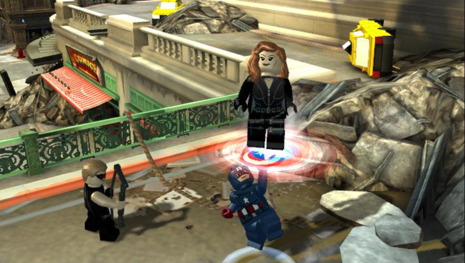 Lego Marvel S Avengers Game Psvita Playstation