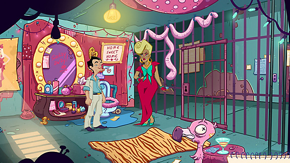 Leisure Suit Larry – Wet Dreams Don't Dry - Screenshot INDEX