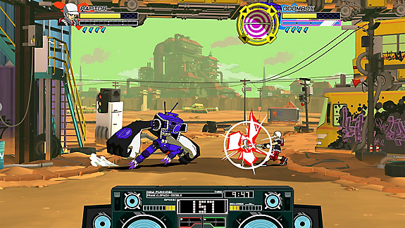 Lethal League Blaze - Screenshot INDEX