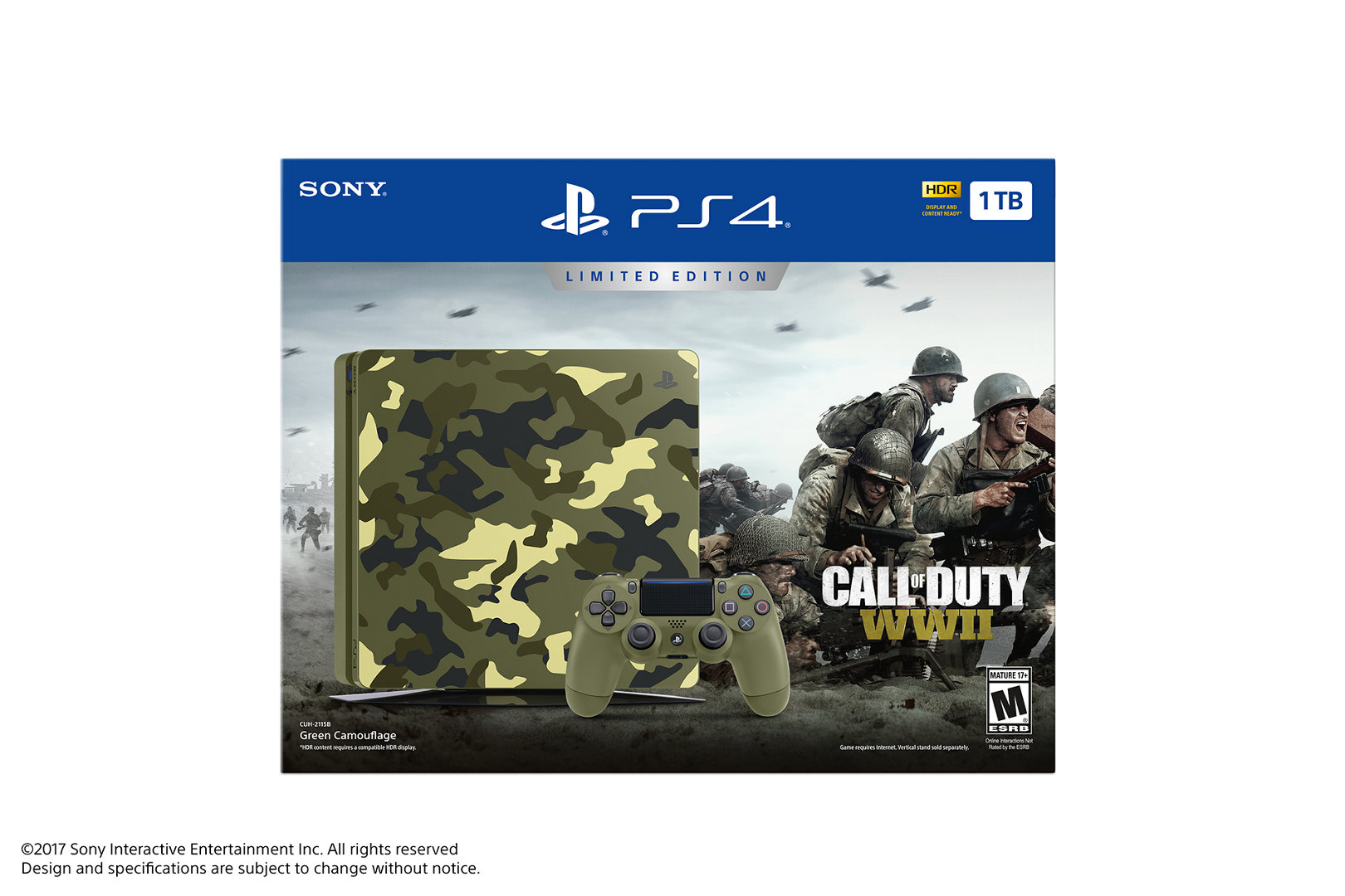7fa381060b Limited Edition Call of Duty®  WWII PS4 Bundle – PlayStation
