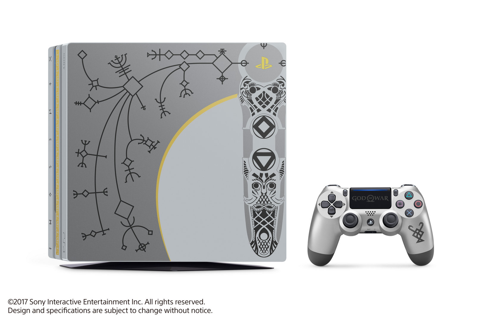 Limited Edition God Of War Ps4 Pro Bundle