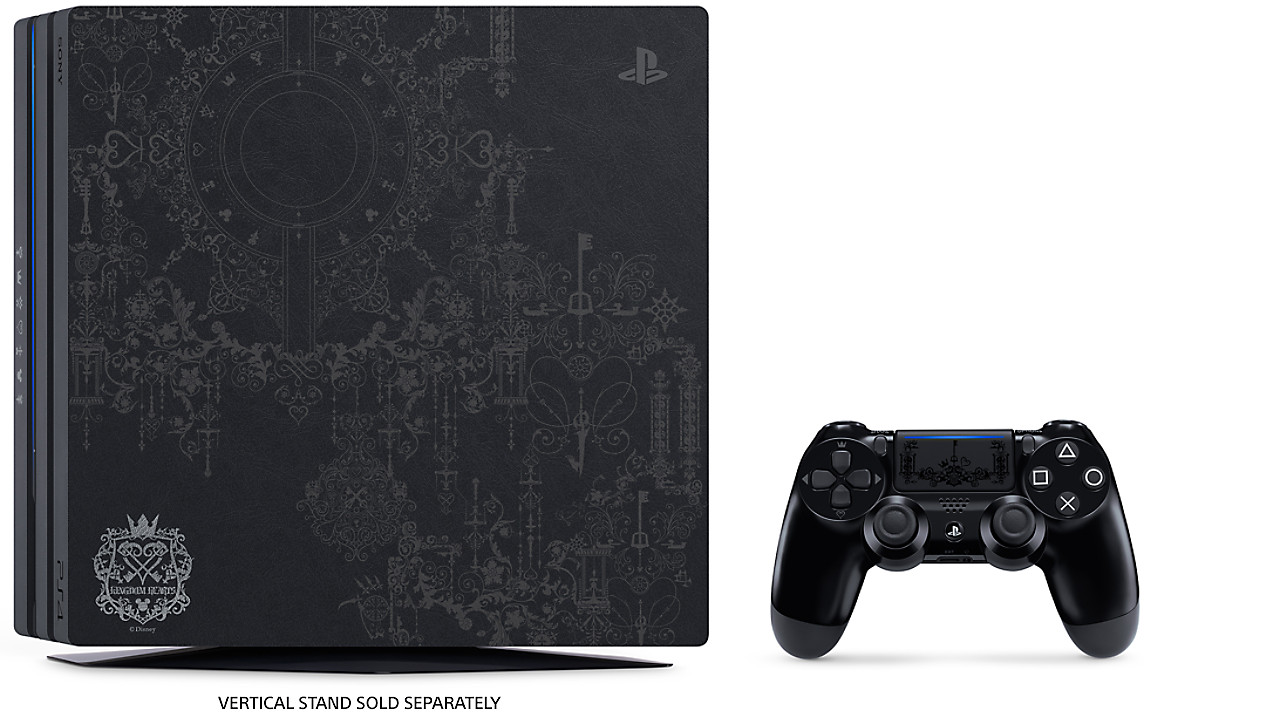 Limited Edition Kingdom Hearts Iii Ps4 Pro Bundle Playstation