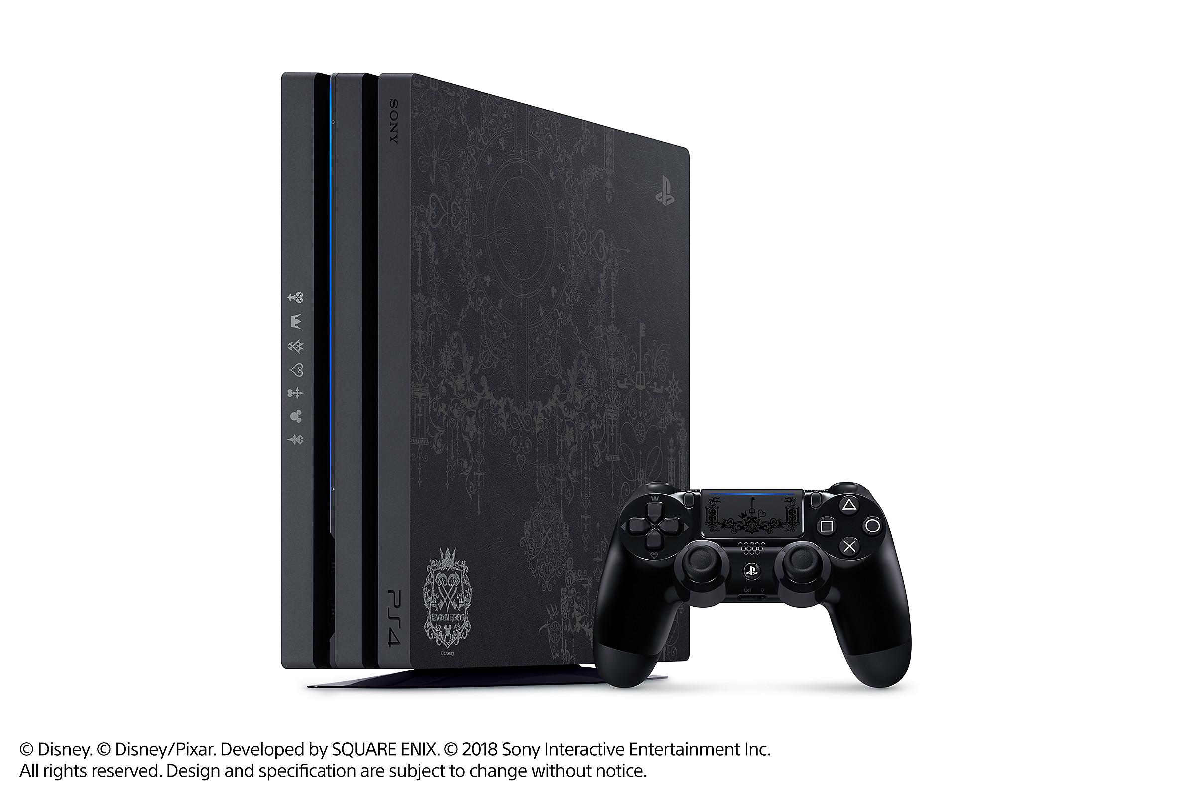 Limited Edition Kingdom Hearts III PS4™ Pro Bundle - PlayStation
