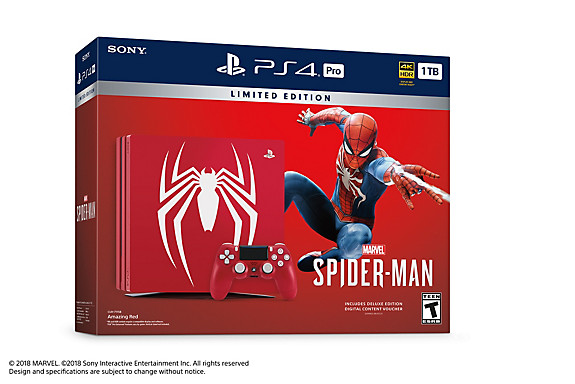 Limited Edition Marvel's Spider-Man PS4 Pro Bundle screenshot