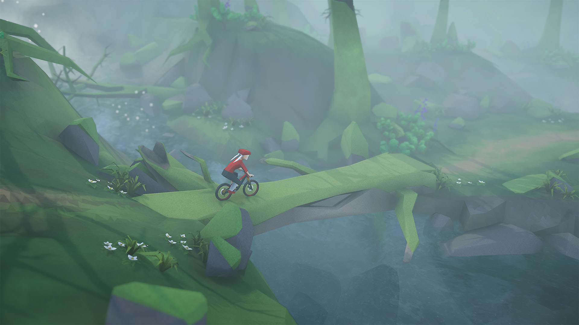 Lonely Mountains: Downhill en acción